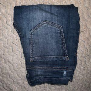 Vanilla Star Mid Rise Skinny Jeans